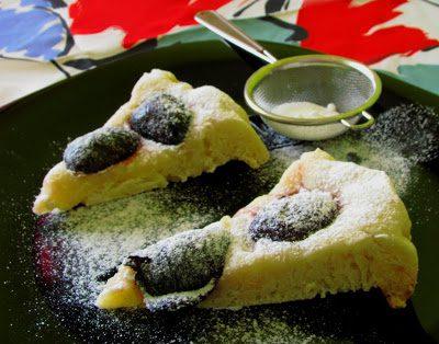 Ciasto ze Śliwkami w Syropie
