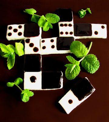 Domino, czyli Miętowe Pastylki w Czekoladzie