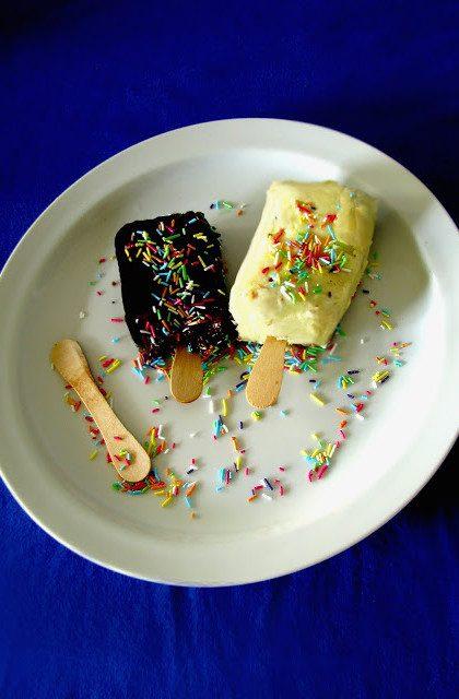 Lody z Brownies