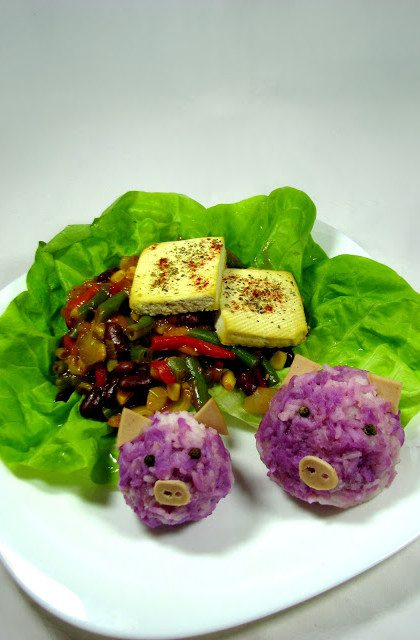 Warzywa z Woka z Tofu i Ryżem