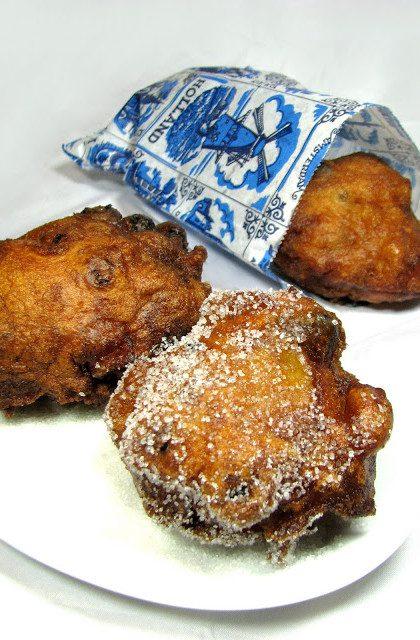 Oliebollen, czyli Holenderskie Pączki z Bakaliami