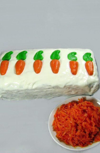 Ciasto Marchewkowe, czyli Carrot Cake