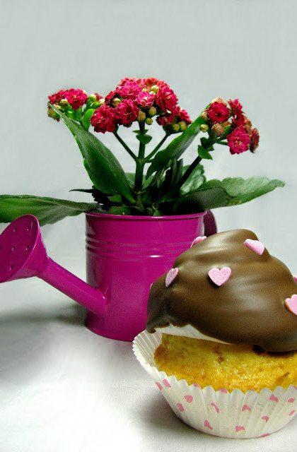 Różane Muffiny z Kremem Hi-Hat Cupcakes