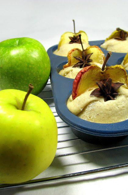 Anyżowe Muffiny z Jabłkami