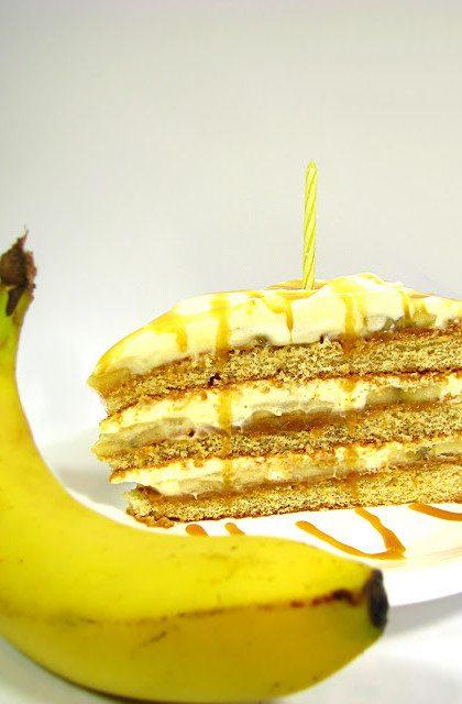 Tort Bananowy, jak Banoffee Pie