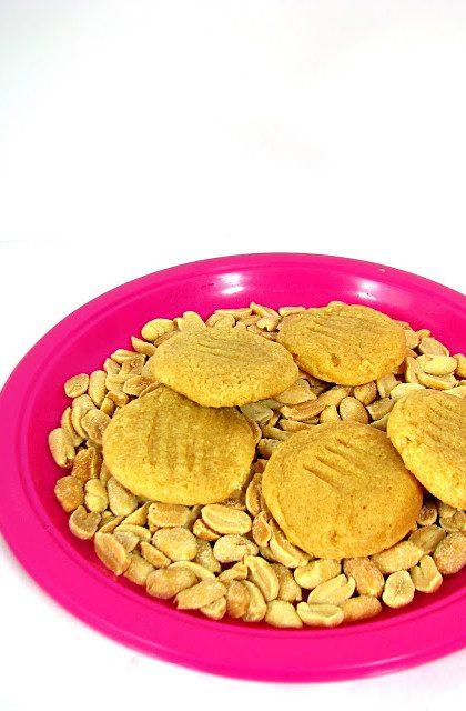 Fistaszki, czyli Ciasteczka z Masła Orzechowego