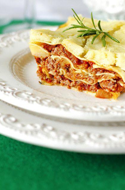 Lasagne Bolognese i Sos Beszamelowy