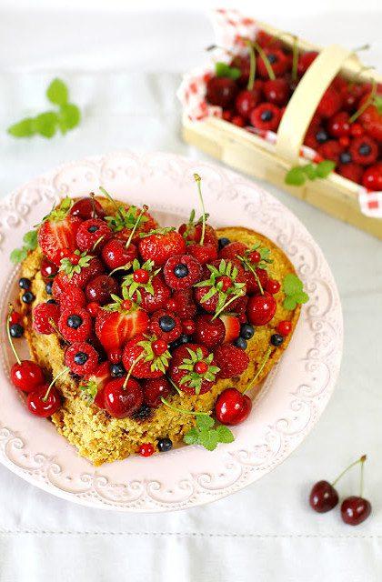 Ciasto z Owocami – Złociste!