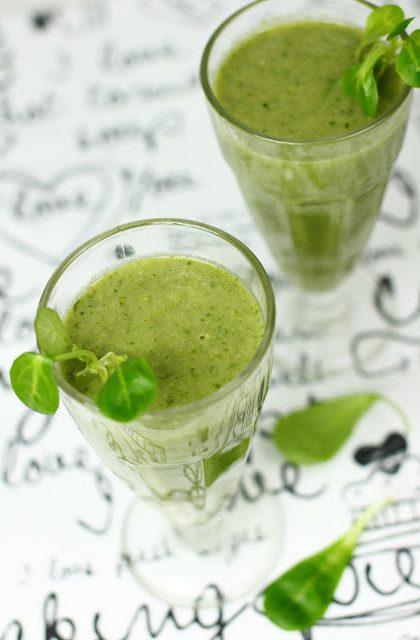 Zielony Koktajl z Roszponki