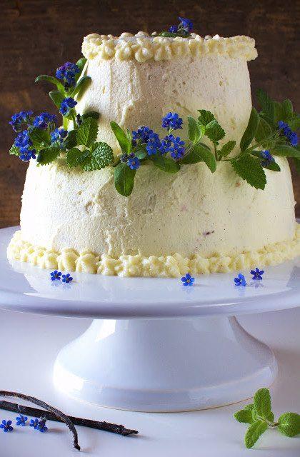 Tort Waniliowy Wiosenny