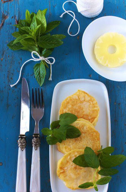 Ananasy w Cieście Naleśnikowym