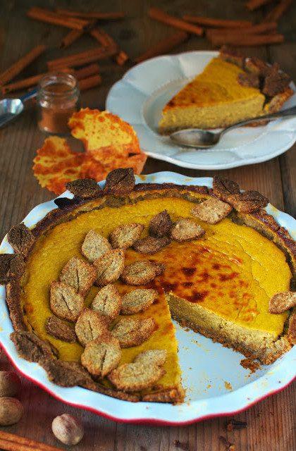 Placek Dyniowy – Pumpkin Pie