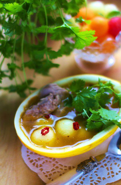 Azjatycka Zupa z Melona