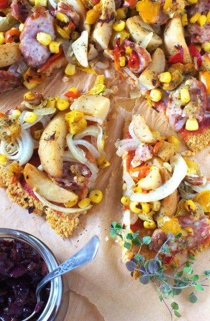 Pizza na Spodzie z Kapusty Kiszonej