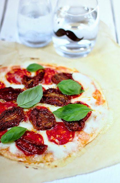 Pizza na Spodzie z Tortilli