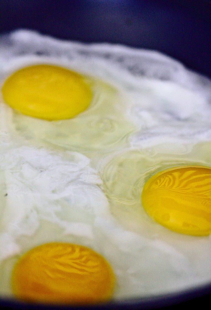 Jajko Sadzone na Wodzie