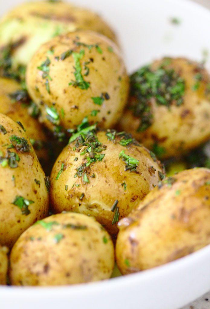 Ziemniaki z Ziołami