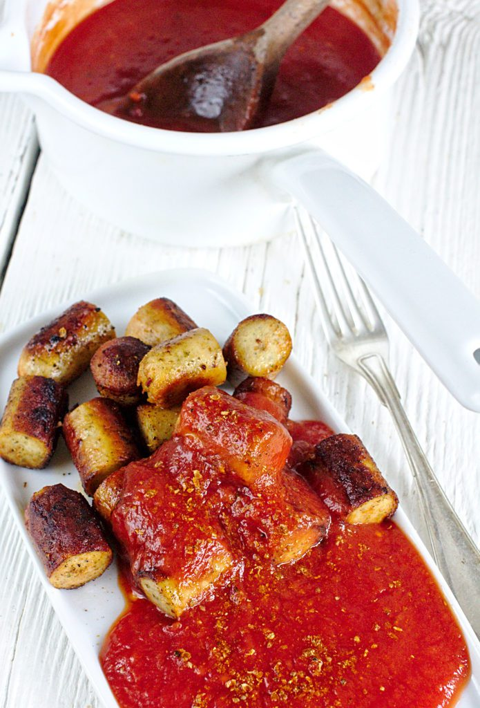 Currywurst, Niemieckie Kiełbaski z Curry