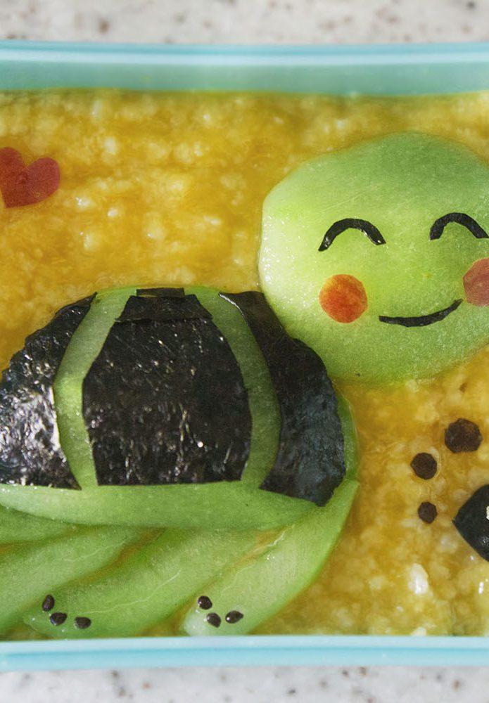 Kasza Jaglana z Mango dla Dzieci, Żółw