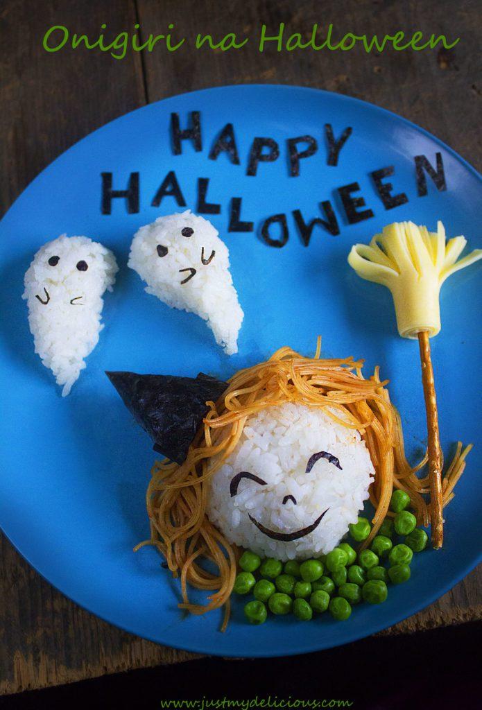 Onigiri na Halloween