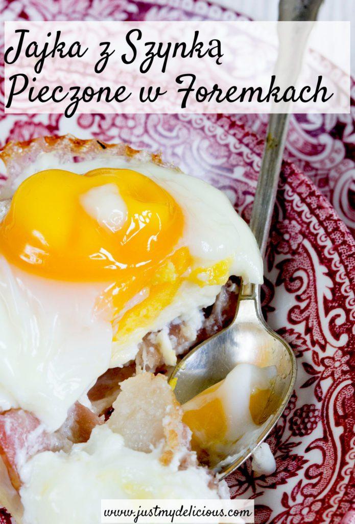Jajka z Szynką Pieczone w Foremkach
