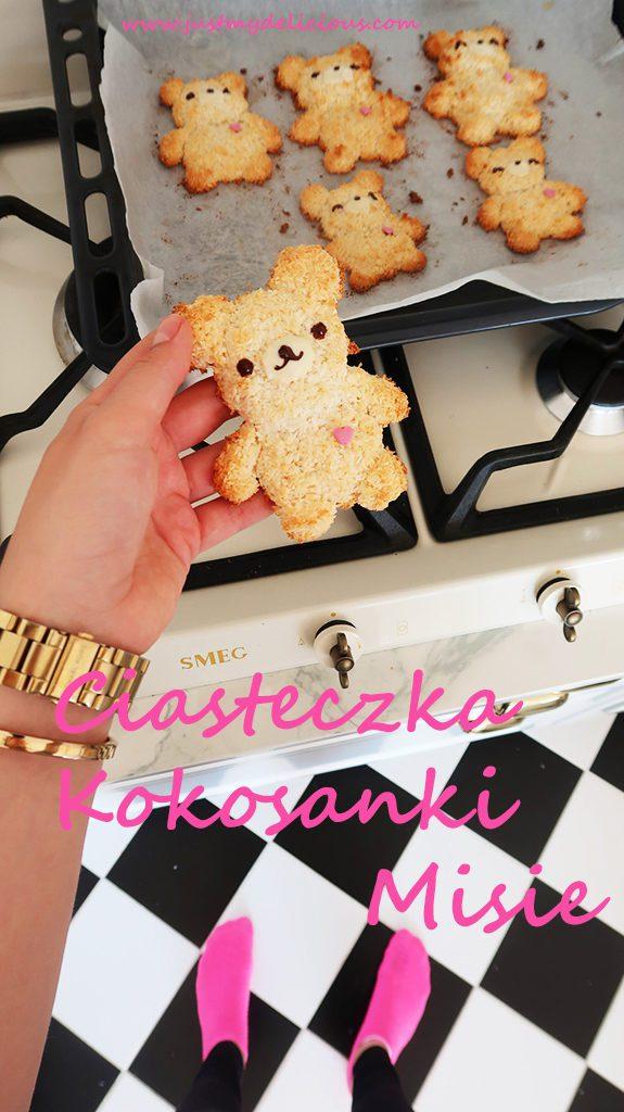 Ciasteczka Kokosanki Misie