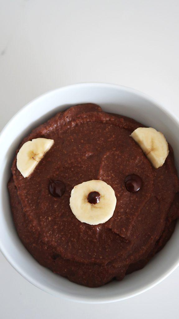 czekoladowy budyń z kaszy jaglanej