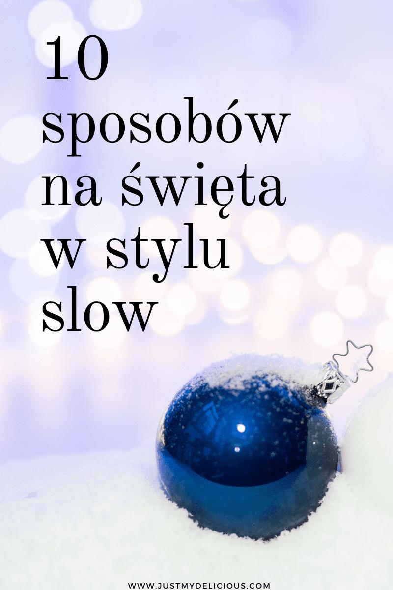 święta w stylu slow