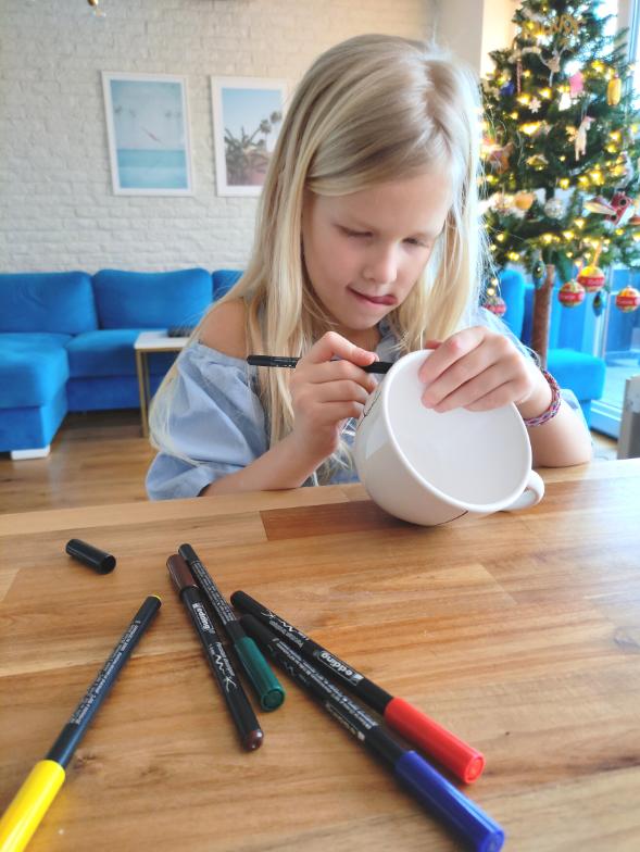 Kubek dla Babci i Dziadka DIY Zrobiony przez Dzieci